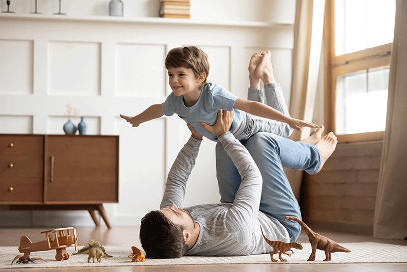 Parents et bébé, petit tour d'horizon de la garde d'enfant.