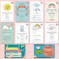 Exemples de cartes de visite nounou recto Dookids